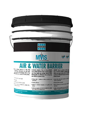 Air and Water Barrier