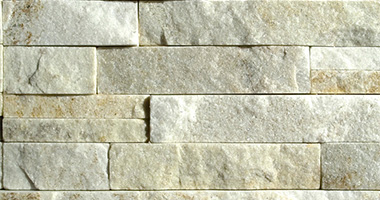 3-D Cream Quartzite