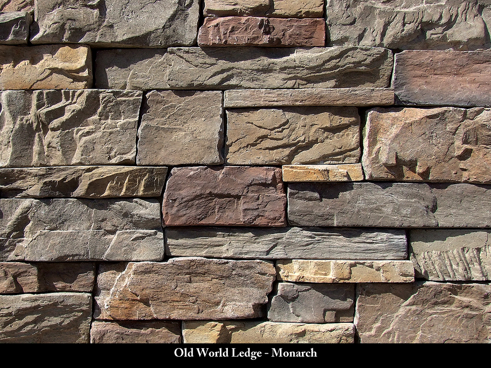 Ledger Stone Veneer : Old world monarch